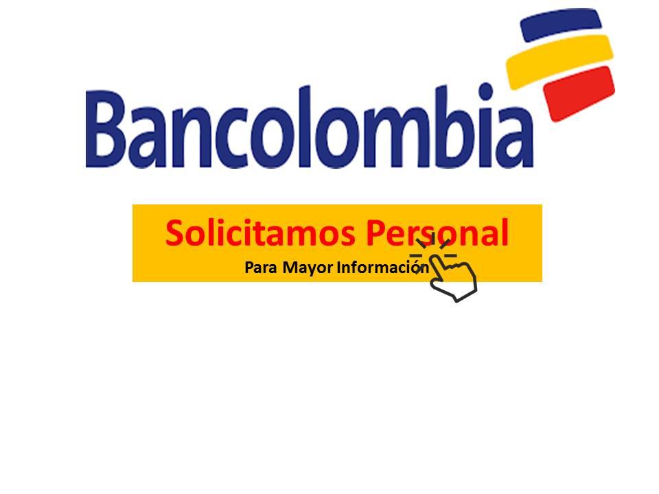 vacantes de trabajo bancolombia